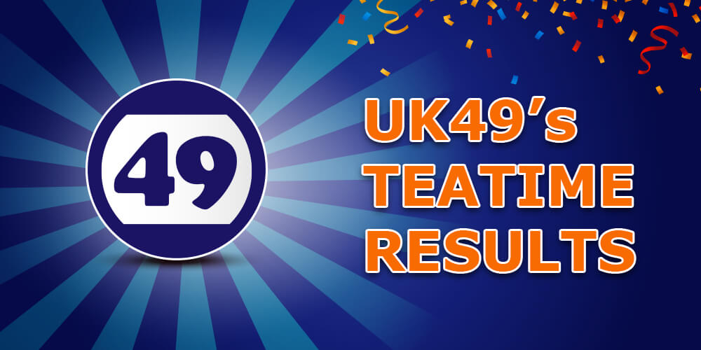 UK Teatime Results For Today